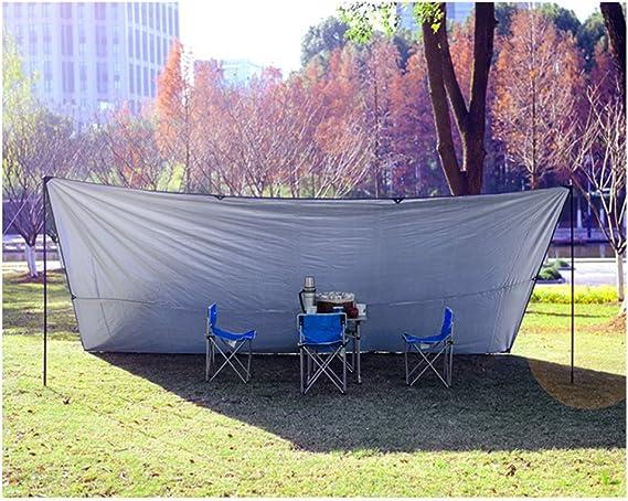 L&Z Canopy pliant UV Abat-jour Auvent Camping Auvent Pergola ...