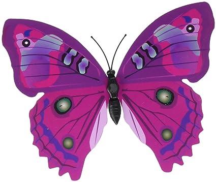 Favorite Amazon.com: 24 PCS PVC 3D Butterfly Fridge Magnets Refrigerator  KX99