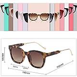 SOJOS Classic Square Polarized Sunglasses Unisex