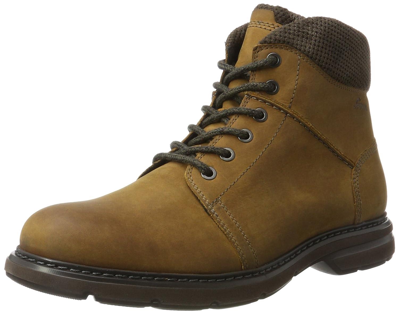 Sioux Herren Jimdako Chukka Boots Braun (Tabacco/Brown)