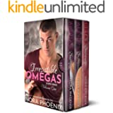 Irresistible Omegas Volume One: an Mpreg Romance (Irresistible Omegas Box Sets Book 1)