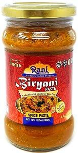 Rani Biryani Masala Curry (Cooking Spice Paste for Indian Rice Dishes, Pullao / Pilau) 10.5oz (300g) ~ All Natural | Vegan | No Colors | Gluten Free | NON-GMO | Indian Origin