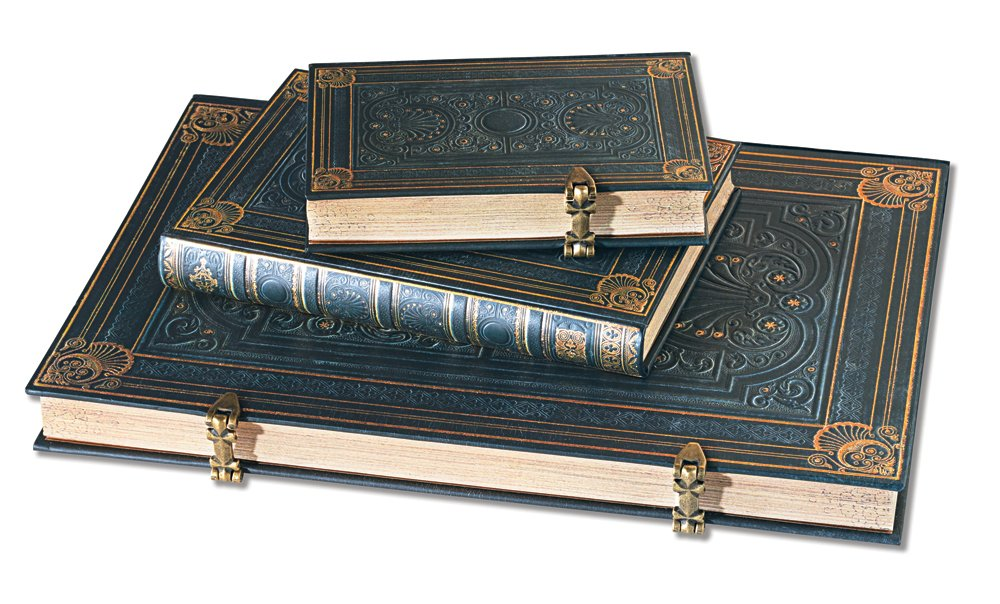 Paperblanks Nocturnelle Grande Lined Journal (240 Pages, 8.25 x 11.75 Inches) by Paperblanks (Image #3)