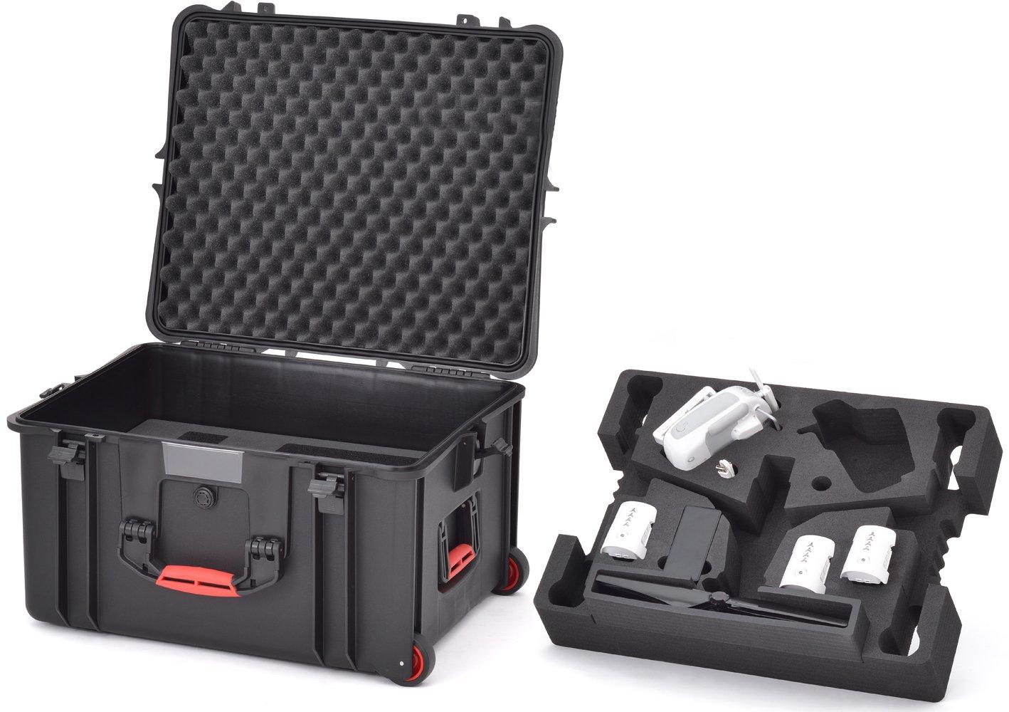 HPRC HPRC2730WINSPRO Wheeled Hard Case for DJI Inspire 1/ Pro (Black)