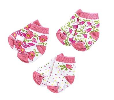 9c20b17da Amazon.com: Vera Bradley Baby Socks 3 Pair 0-12M in Lilli Bell VB  12769-142: Shoes