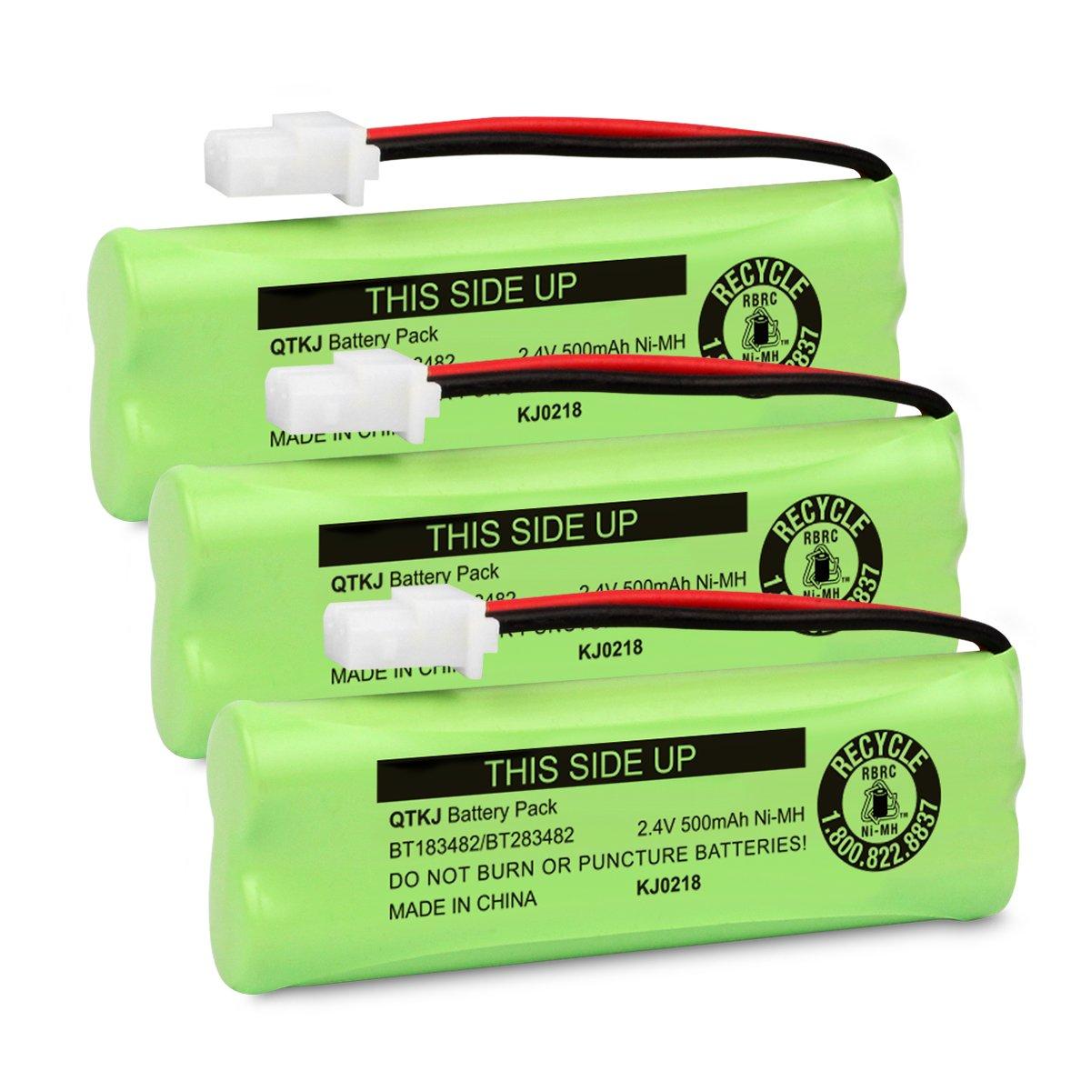 3x Repuesto Telefono Vtech Bateria Bt183482 Bt283482 Xsr