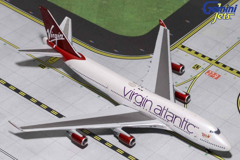 GeminiJets Virgin Atlantic B747-400 G-Vbig 1: 400 Scale Diecast Model Airplane [並行輸入品]