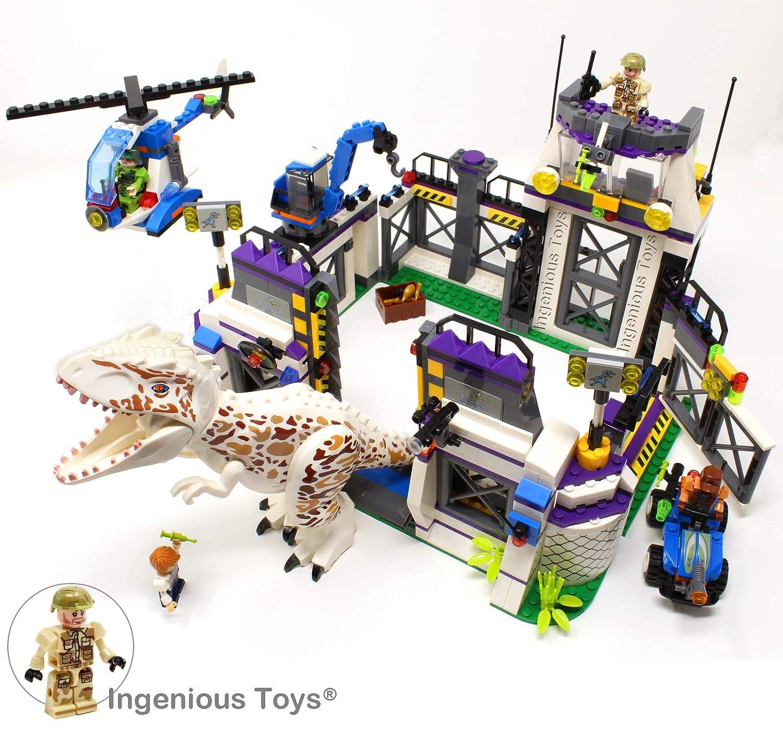 Ingenious GIOCATTOLI DINOSAURI World - T-Rex ESCAPE   253pcs Costruzioni set  77013