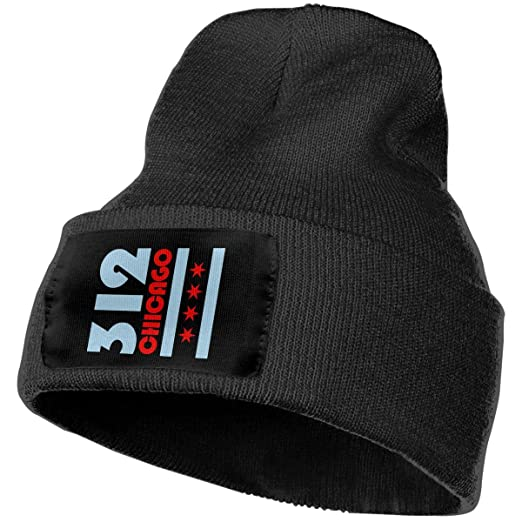 COLLJL-8 Men /& Women Chicago Flag Outdoor Fashion Knit Beanies Hat Soft Winter Knit Caps