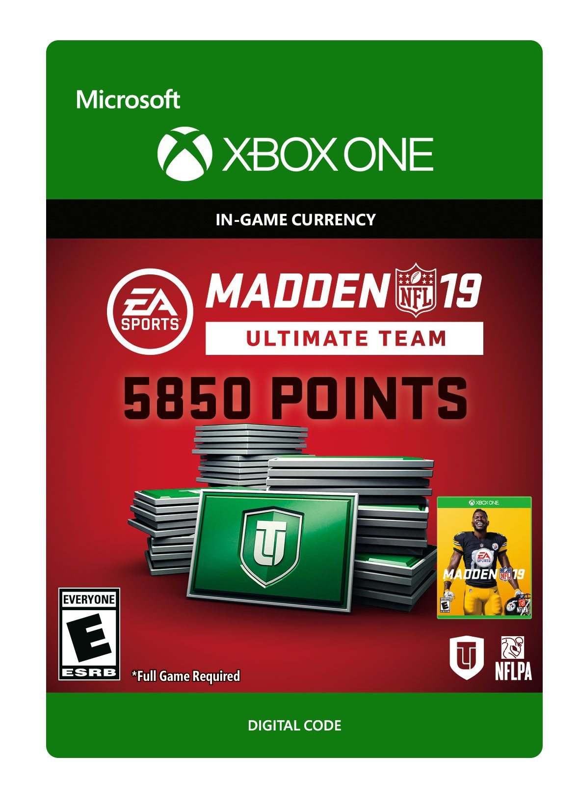 Madden NFL 19: MUT 5850 Madden Points Pack - Xbox One [Digital Code] by Electronic Arts