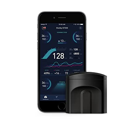nonda ZUS Smart Vehicle Health Monitor, Wireless Bluetooth OBD2 Car Code Reader with App, No Monthly Fee & Real-Time Pro Dashboard, OBDII Scan Tool for iPhone & Android