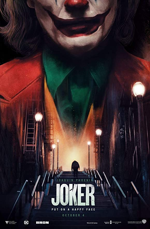 printdesign Joker - Movie Poster Wall Decor Cartel de la ...