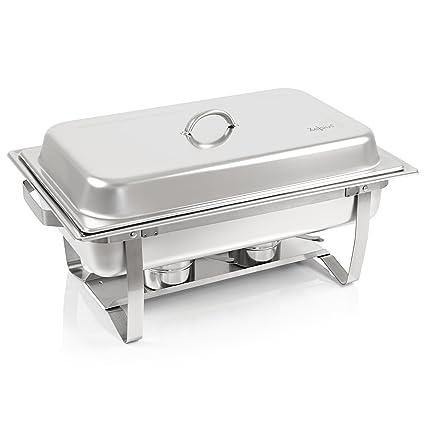 Zelsius calentador de platos Chafing Dish | Acero Inoxidable ...