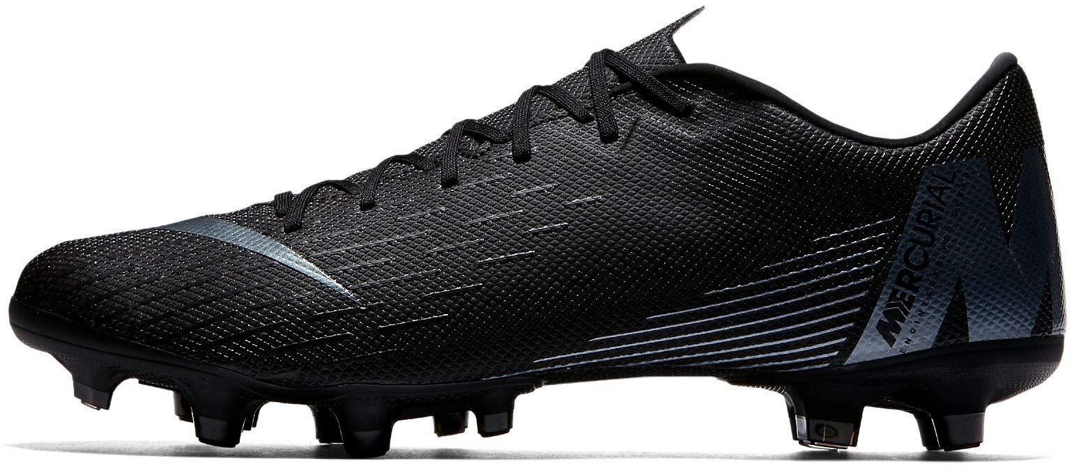 2891b5feaf7 Galleon - Nike Mercurial Vapor 12 Academy MG Soccer Cleat (Black) (Men s  10.5 Women s 12)