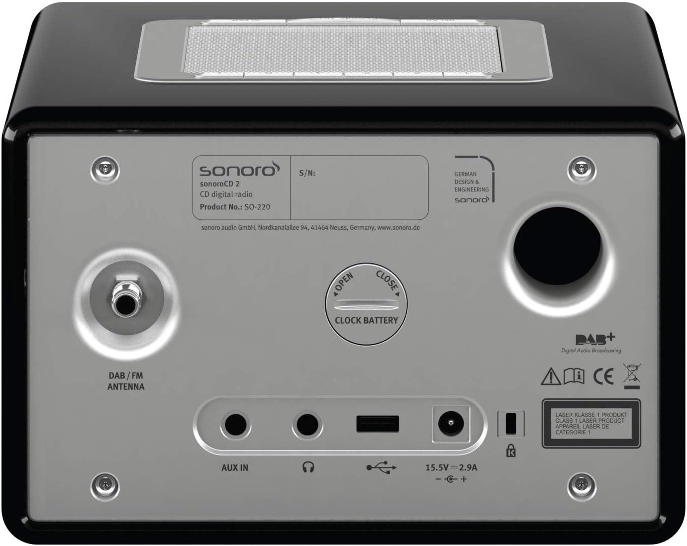 Sonoro Cd2 Schwarz Elektronik
