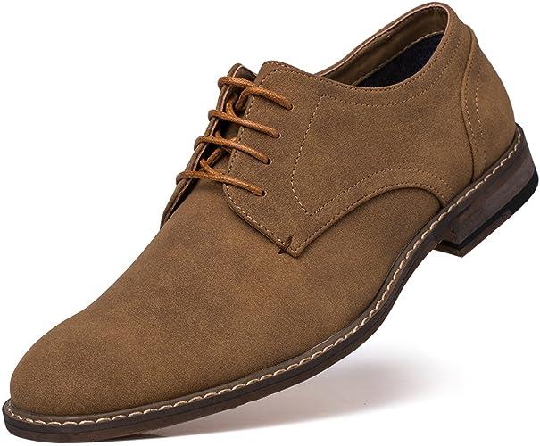 Jivana Men's Classic Oxford Dress Shoes