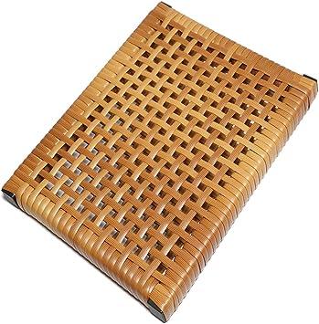 GX&XD Rota Red Cojín de la Silla,Madera Respirable Cojín Silla para para el Coche de Silla de Oficina Silla Verano Cool Estera de meditación Estera de sofá-G 43x43cm(17x17inch): Amazon.es: Hogar