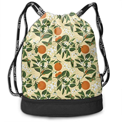 Amazon.com: Trableade Orange Garden Jade Butterfly ...