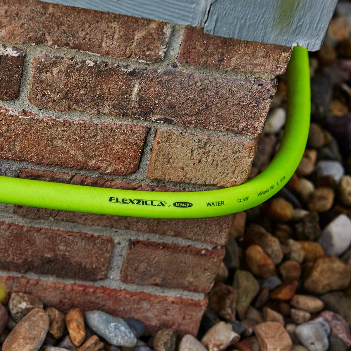 Flexzilla Garden Lead-in Hose 5/8 in. x 50 ft, 50' (feet) HFZG550YW by Flexzilla (Image #5)