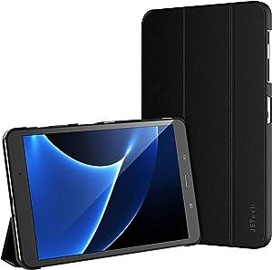 JETech Funda para Samsung Galaxy Tab A 10,1 (SM-T580 / T585, Modelo 2016) Carcasa con Soporte Función, Auto-Sueño / Estela, Negro
