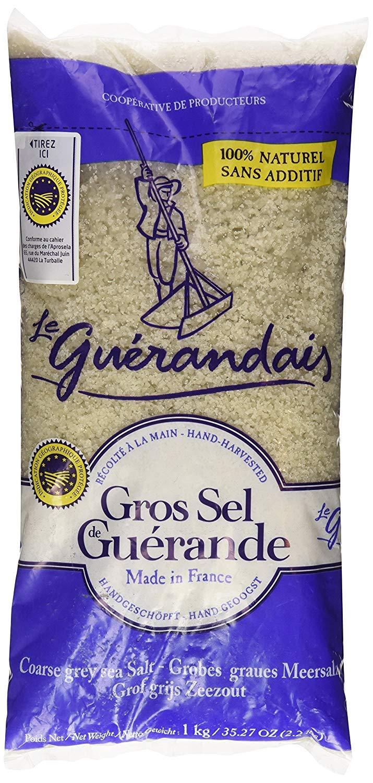 Le Guerandais Coarse Sea Salt Gros Sel De Guerande, 800g per bag Pound (10 pack)