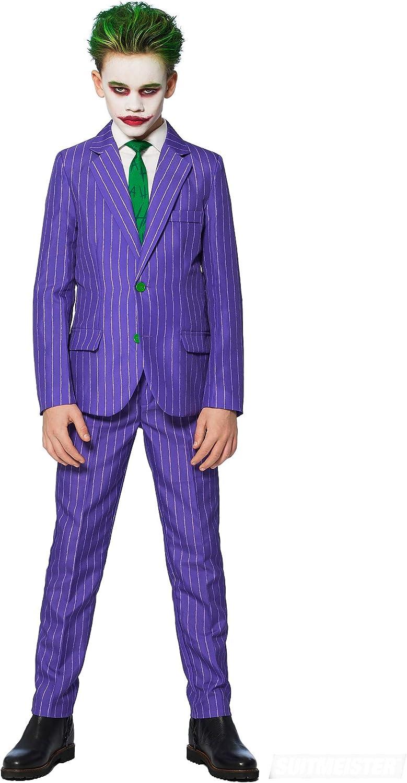 Generique - Disfraz Mr. Joker niño Suitmeister 4-6 años(98-104 cm ...