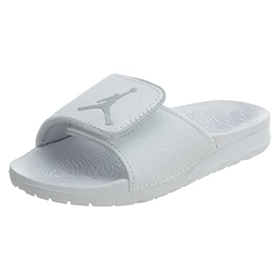e9caa0f951ebba Jordan Hydro 6 BP Little Kids (PS) Slide White Pure Platinum 881476-