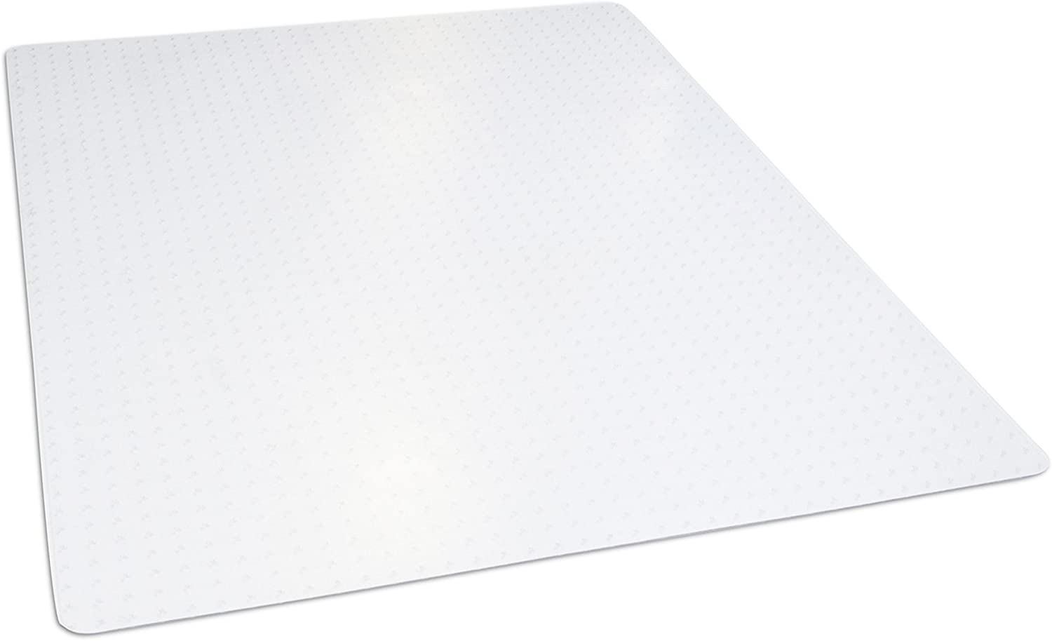 """Dimex 46""""x 60"""" Clear Rectangle Office Chair Mat For Low And Medium Pile Carpet, Made In The USA, BPA And Phthalate Free, C532001J : Office Products"""