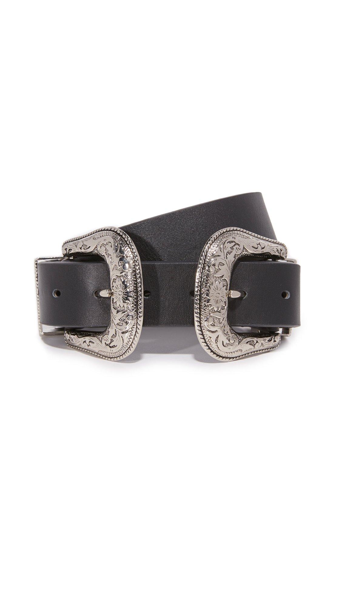 B-Low The Belt Women's Bri Bri Belt, Black/Silver, Medium