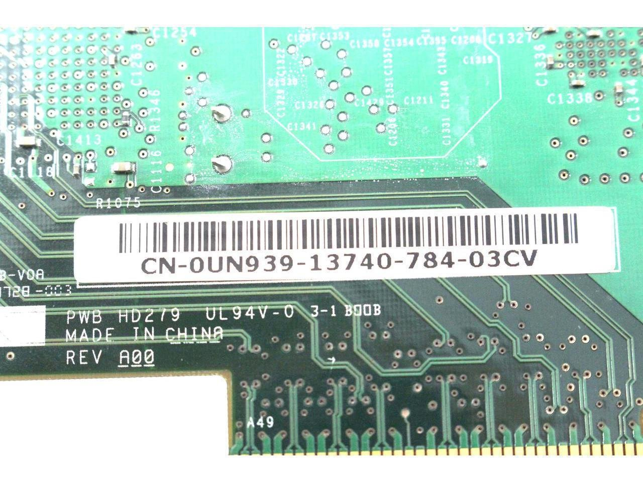 UN939 SAS 5i SAS5//iR PCI-e Raid Poweredge Dell UCS-51 GU186