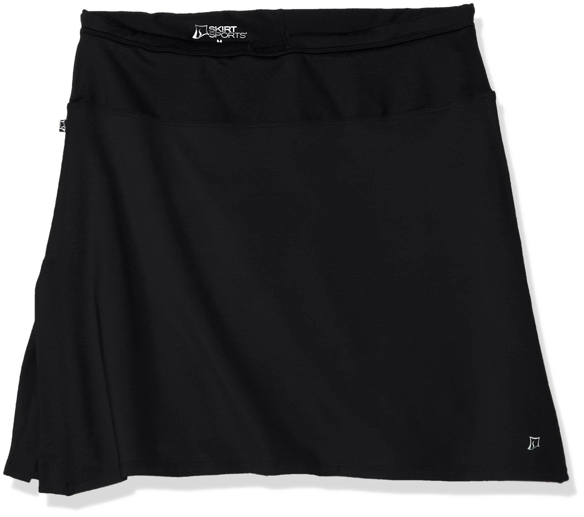 Skirt Sports Womens Cruiser Bike Girl Skirt, Black, SM