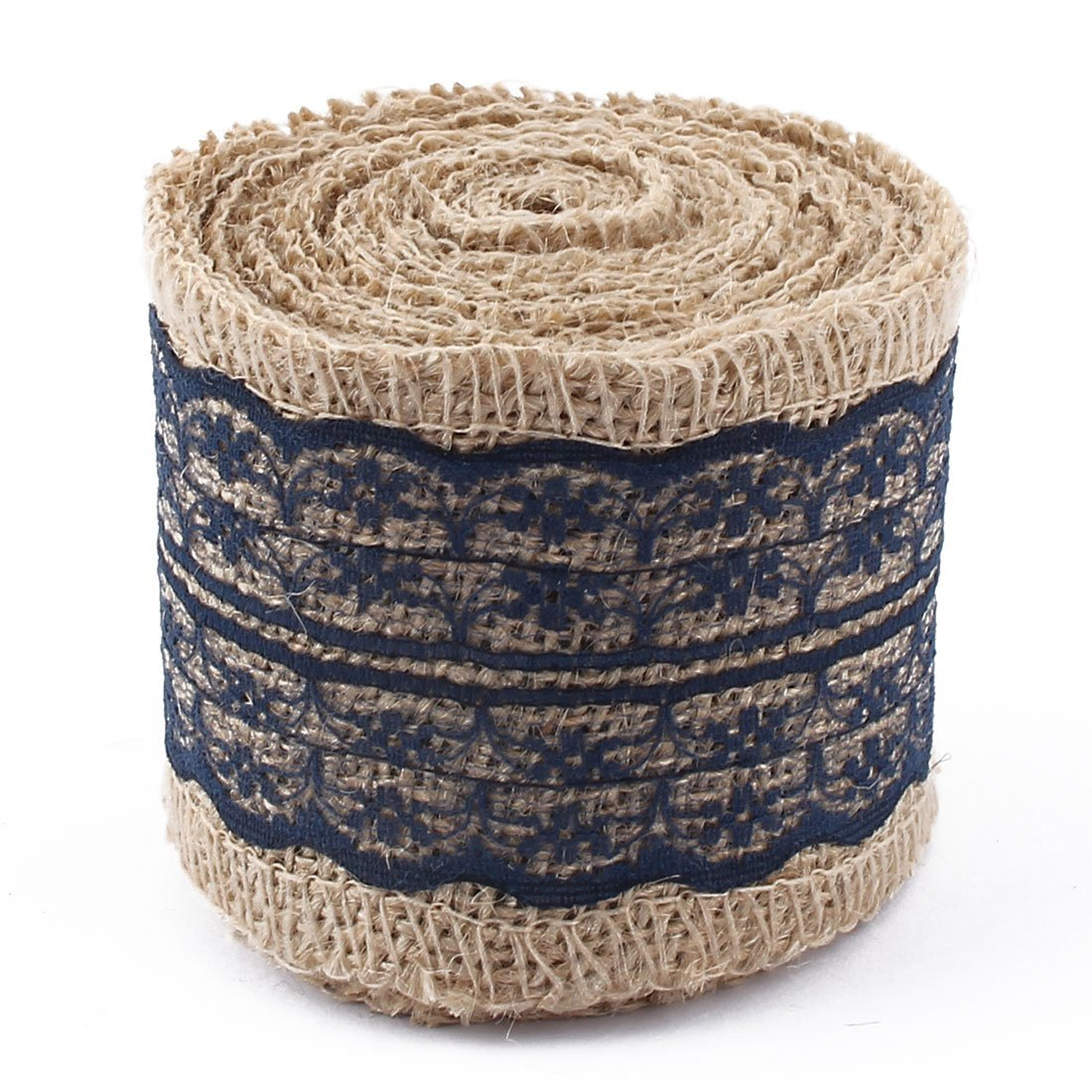 Amazon.com: eDealMax arpillera Navidad casera DIY embalaje de Regalo de embalaje del ornamento del arte de la Cinta del Rollo de Cinta Azul Marino: Health ...