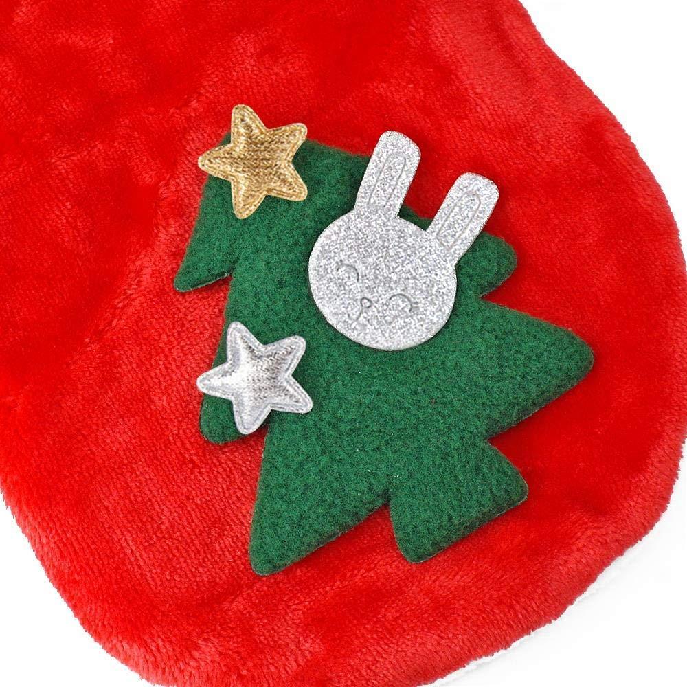 con Capucha Gloomia dise/ño de Reno Disfraz de Navidad para Perros y Gatos