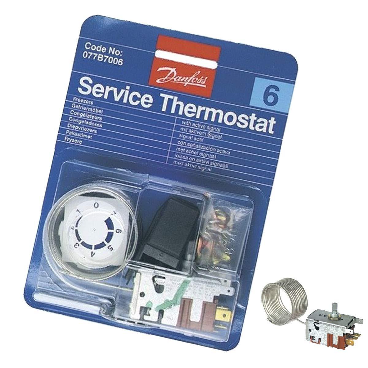 Termostato Danfoss N° 6 - 077B7006; referencia:AS0003932; para ...