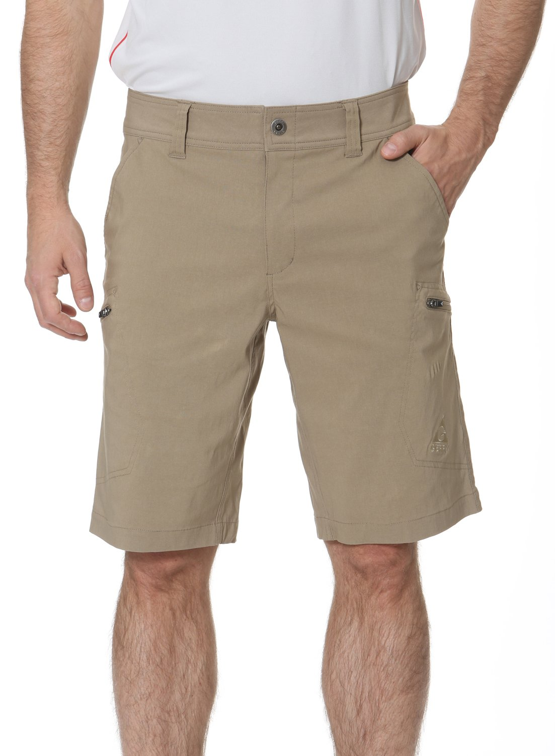 Gerry Stretch River Hiking Short (34, Oak)… by Gerry