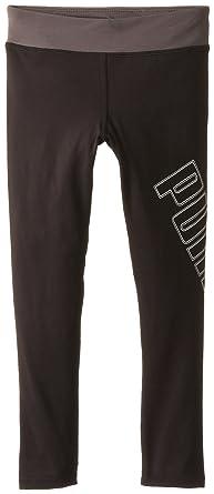 5eebf95e5a2b6e Amazon.com: PUMA Girls' Tech Legging: Clothing