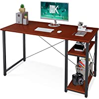 ODK Computer Desk with Shelves 39-in Home Office Desk w/Storage Deals