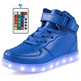 Amazon Price History for:Qkettle Kids 20 Models LED Shoes Boys Girls Light Up Sneakers With Remote Control