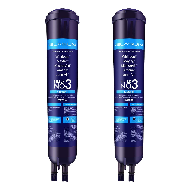 Filter 3 Blue Refrigerator Water Replace Models Kenmore 9083 9030(2-PACKS)