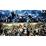 Final Fantasy FF 8 9 10 12 13 14 XIV poster 43 inch x 24 inch / 24 inch x 13 inch by bribase shop