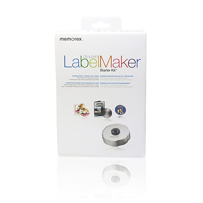 Memorex LabelMaker Blanco CD/DVD - Etiquetas de impresora ...