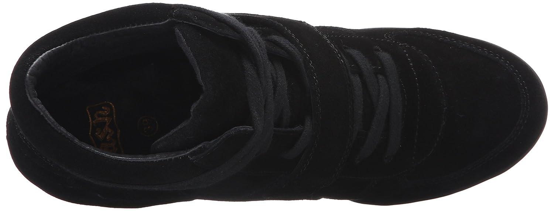 Ash Women's Bowie Fashion Sneaker B01DG4KRRW 41 M EU (11 US)|Black/Black/Black