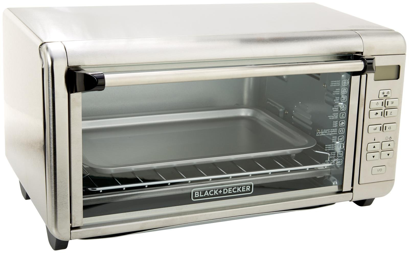 BLACK+DECKER TO3290XSD Extra-Wide Toaster Oven, Stainless Steel