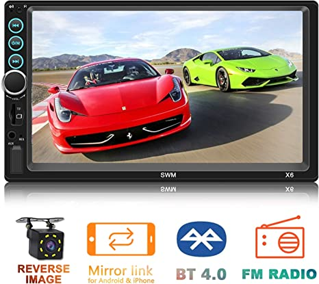 7 Inch 2 DIN Car MP5 Player FM Touch Screen Stereo Radio USB BT Head Unit