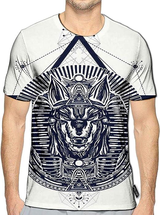 Ancient Egypt Pharaoh Queen Women Men T-Shirt 3D Print Short Sleeve Tee Tops