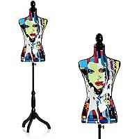 HomCom Maniquí Femenino de Costura Busto de Señora