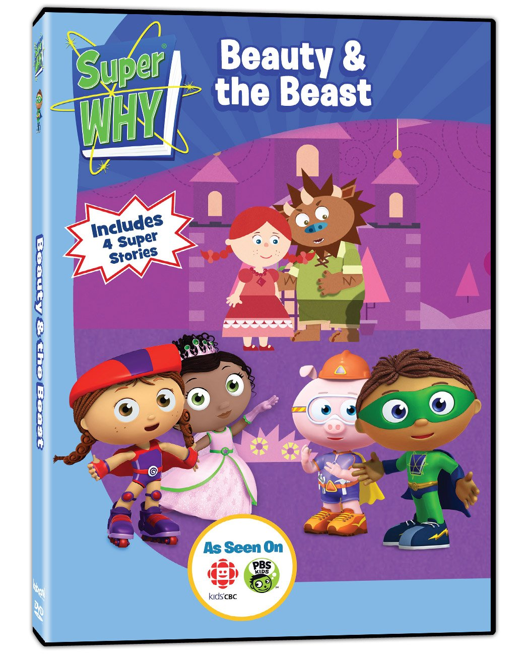Amazon.com: Super Why!: Beauty & The Beast: Movies & TV