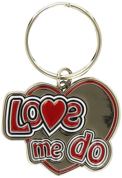 Amazon.com: The Beatles – Love Me Do Standard Llavero.: Clothing