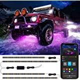 Car Underglow LED Lights, Govee Exterior Car Lights with Ultra Long 2-in-1 Design (2 x 47 inch + 2 x 35 inch), App…