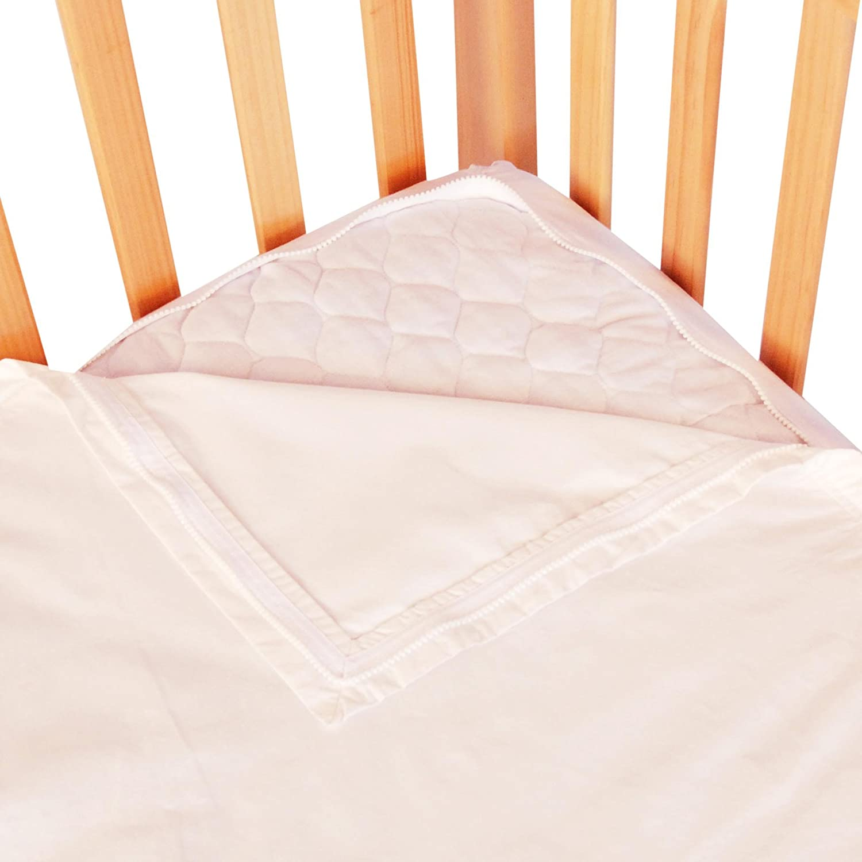 Baby crib zipper sheets - Amazon Com Quickzip Organic Easy Change Crib Sheet With Wraparound Total Security Base White Crib Sheets Zip Organic Set Baby